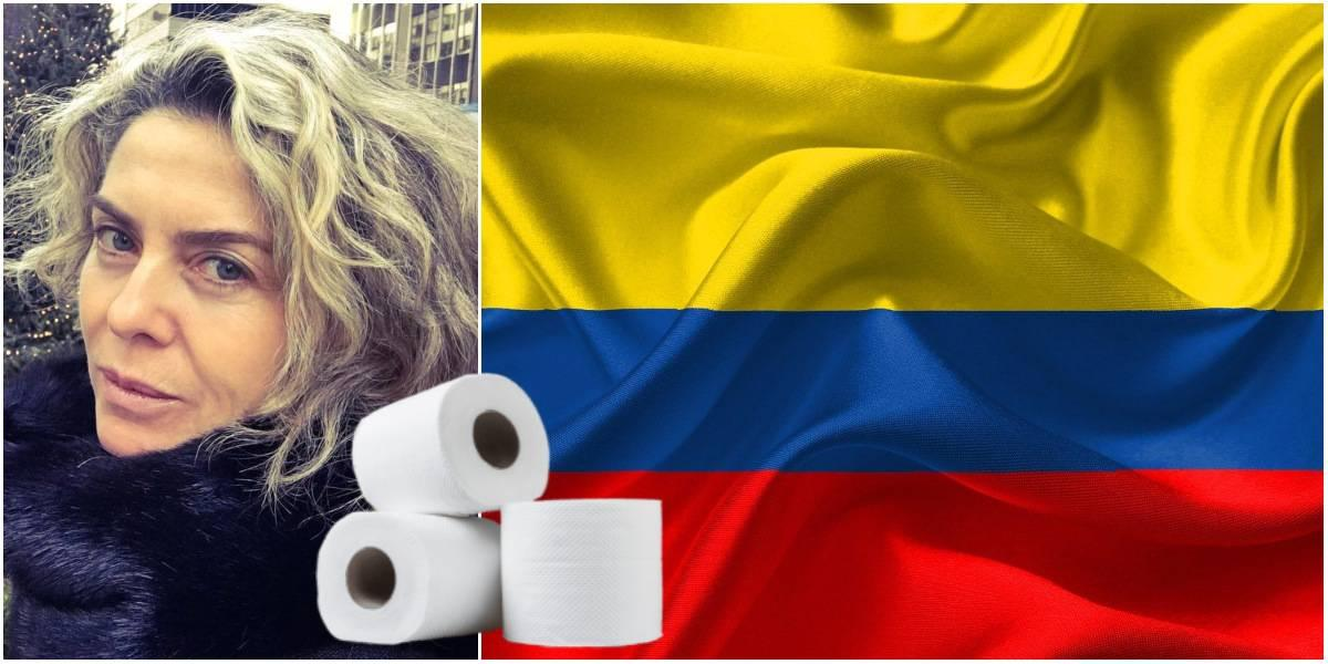 bandera de colombia papel higienico margarita rosa de francisco