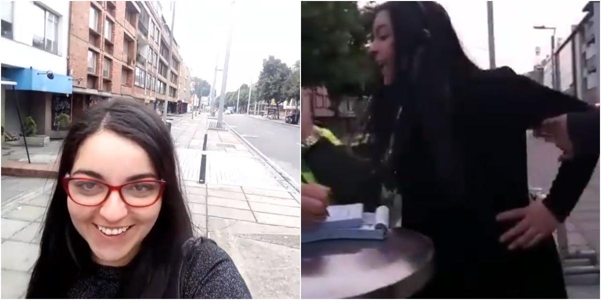 maria victoria nuevo video incumpliendo cuarentena bogota