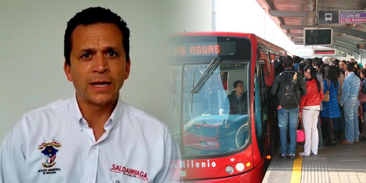 Soacha aplica pico y cédula para usar Transmilenio hacia Bogotá