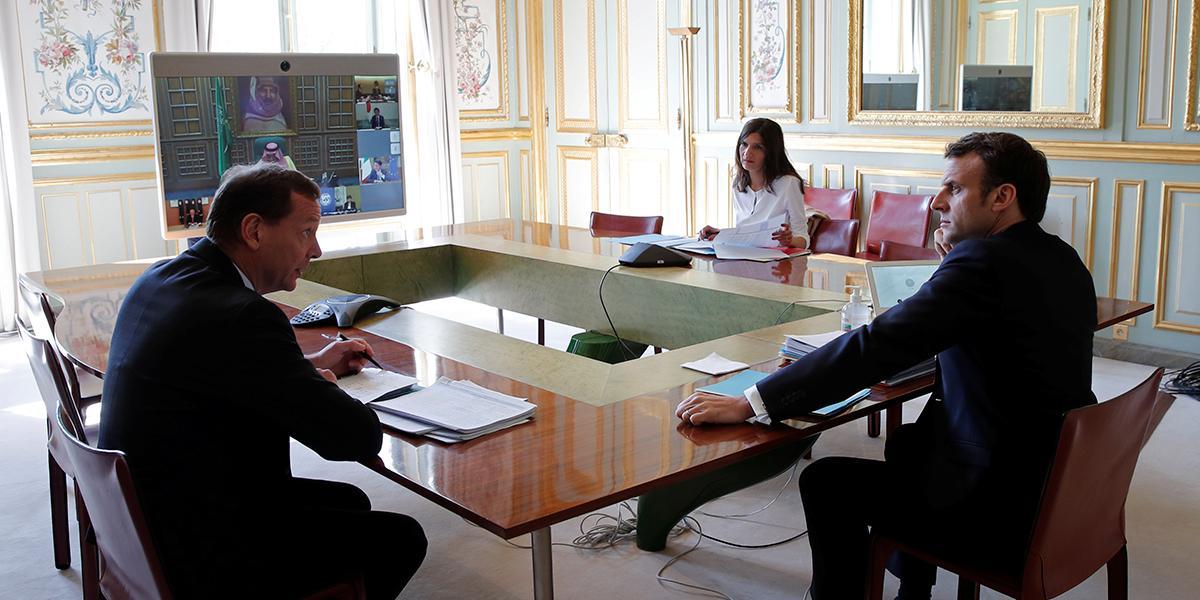Comienza la cumbre virtual del G20 para tratar el impacto del coronavirus