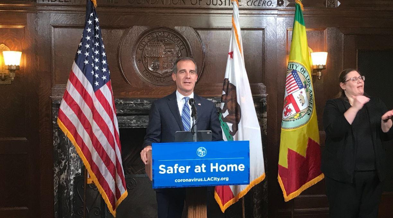 eric garcetti alcalde LA