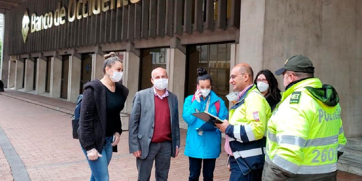 Banco de Occidente aclara comentario del secretario de Gobierno de Bogotá