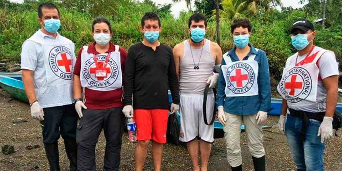 Liberan a tres civiles en Cauca