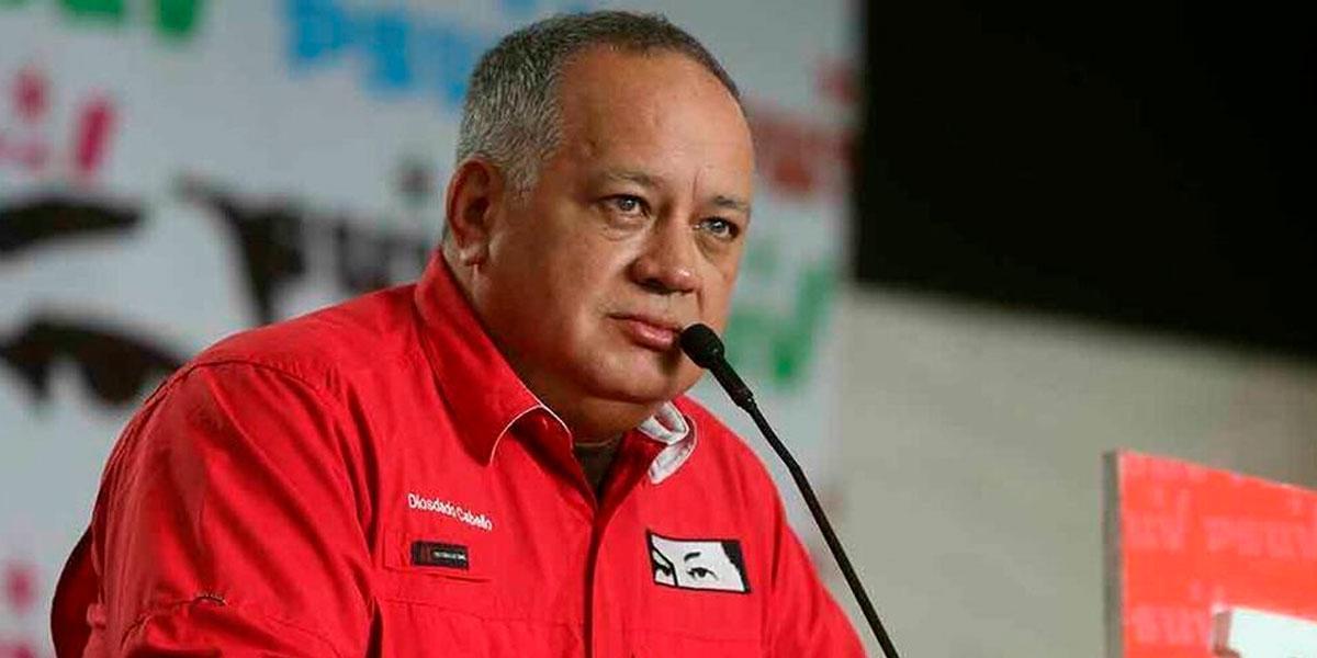 Diosdado Cabello se defiende ante cargos impuestos por Estados Unidos