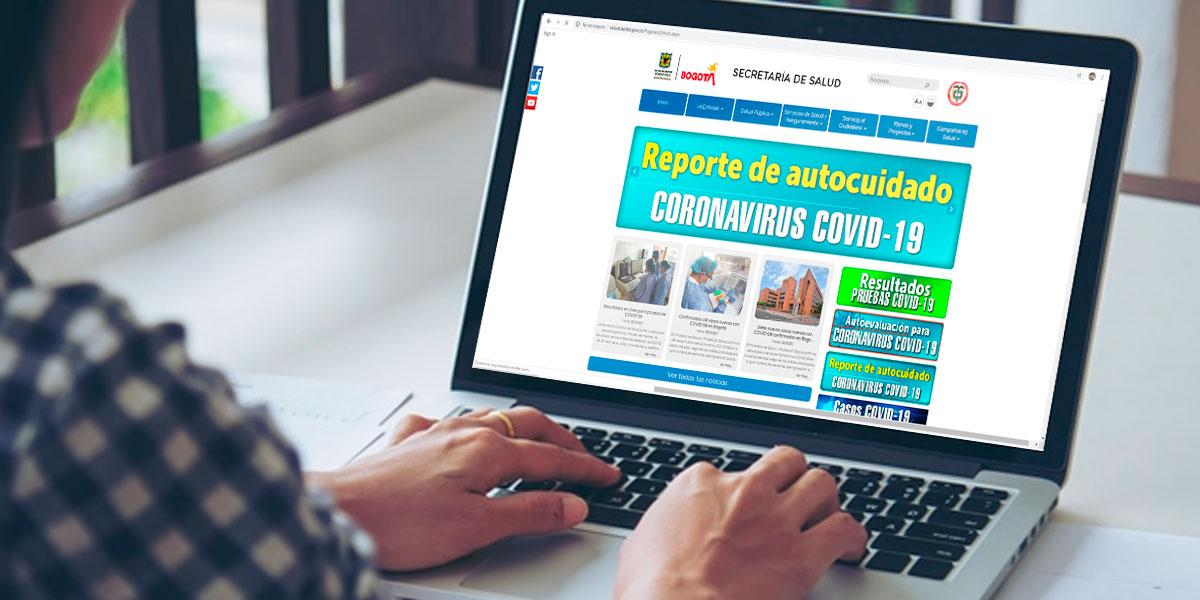 Bogotános que se hayan realizado prueba de COVID-19 podrán consultar resultados en línea