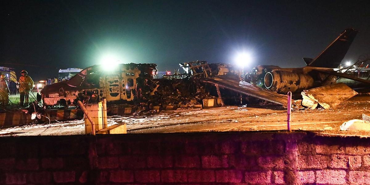 Avioneta con personal médico a bordo se incendia en Filipinas