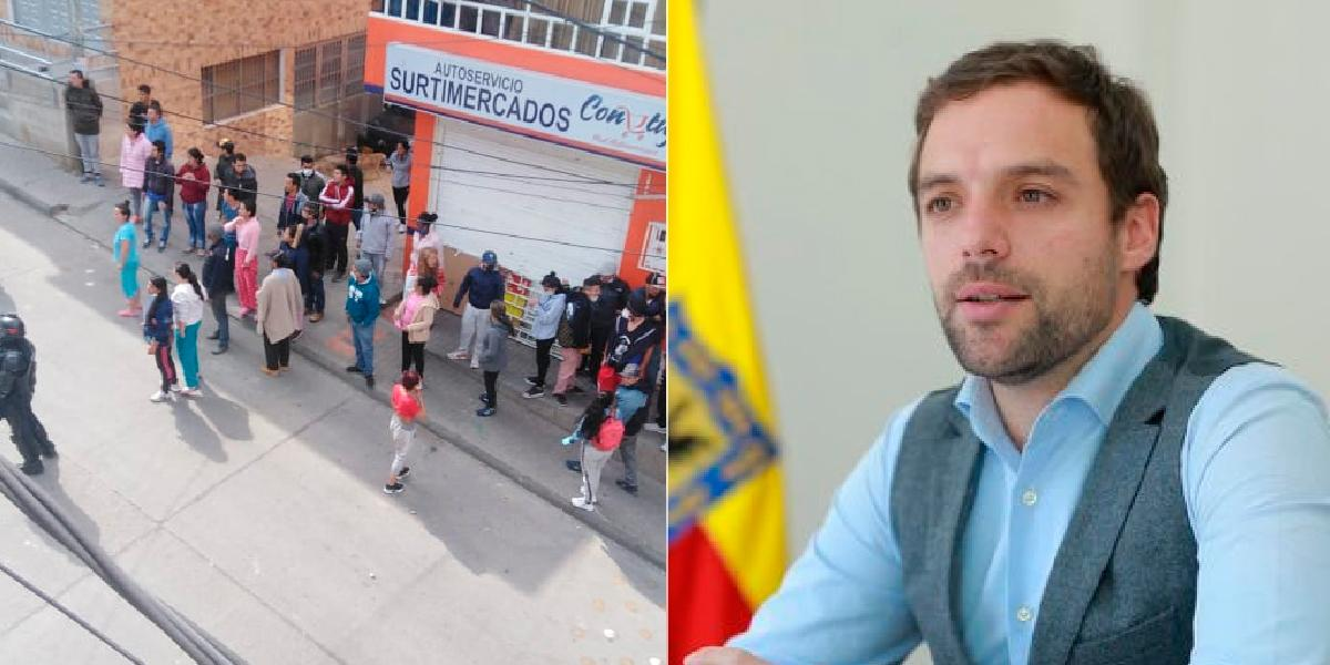 """""""Ninguna ayuda del Distrito se notifica por WhatsApp"""": secretario de Gobierno"""