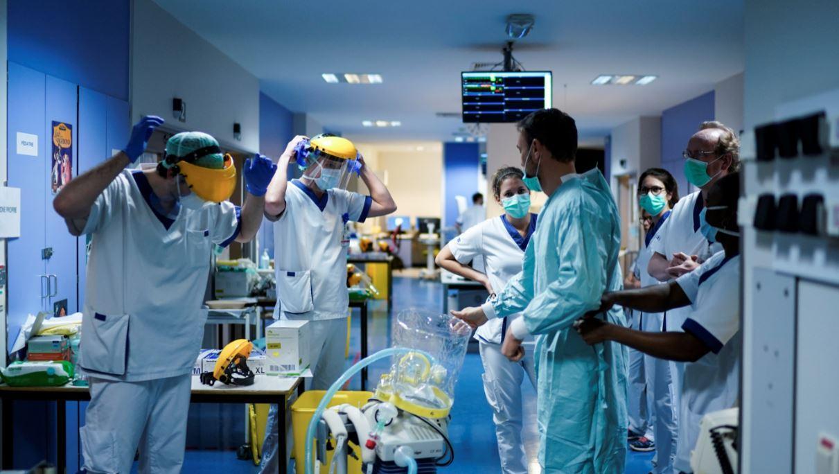 medicos coronavirus belgica