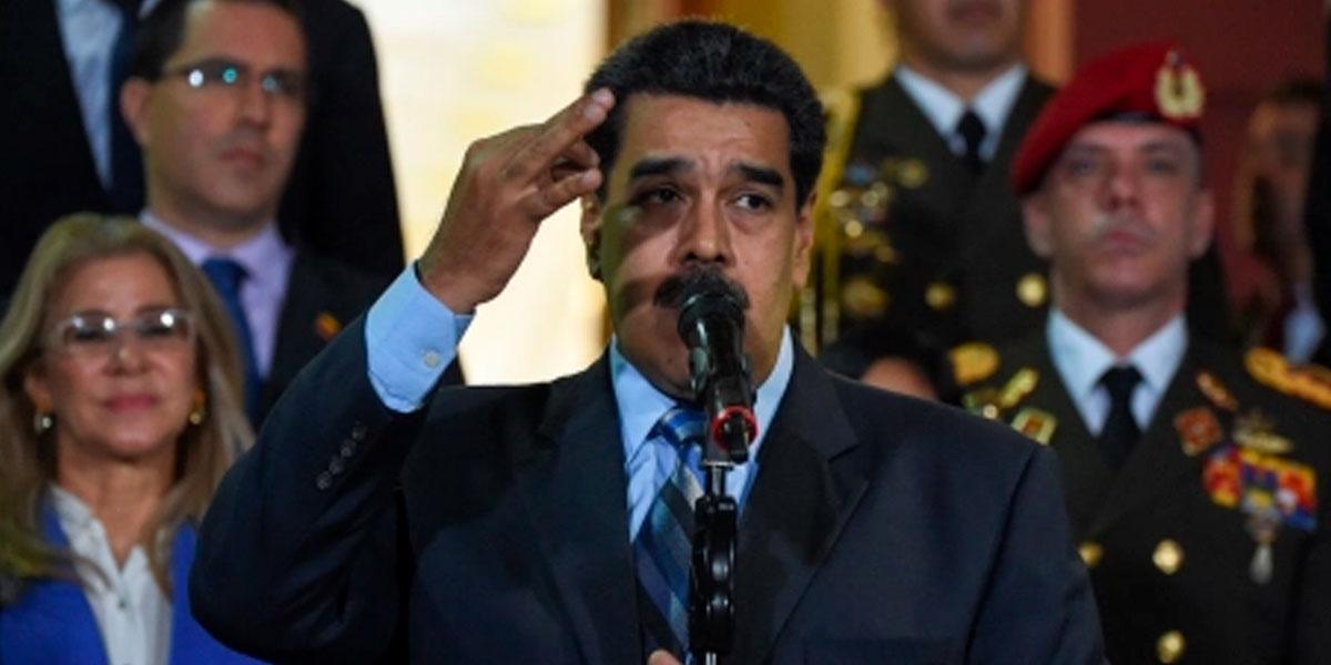 Maduro tilda de «adefesio» propuesta de EE. UU. para nuevos comicios en Venezuela