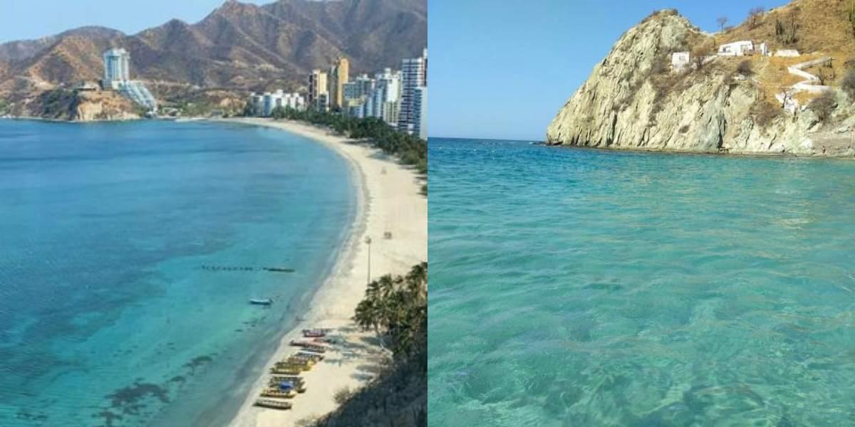 Las playas de Santa Marta volvieron a ser hermosas