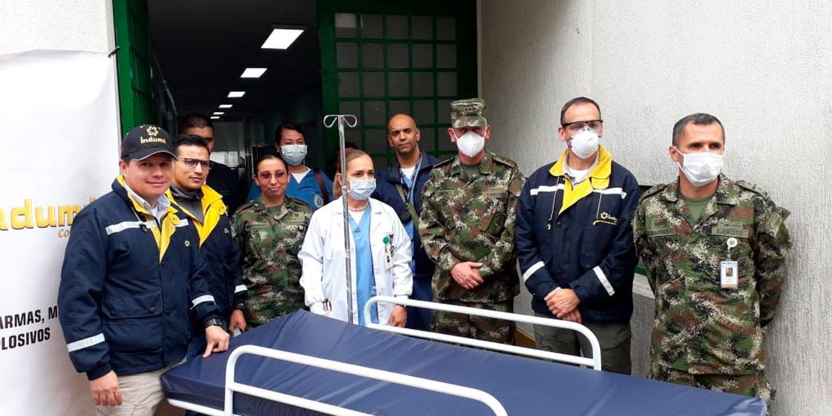 Indumil fabricará tres mil camas hospitalarias para el sector salud