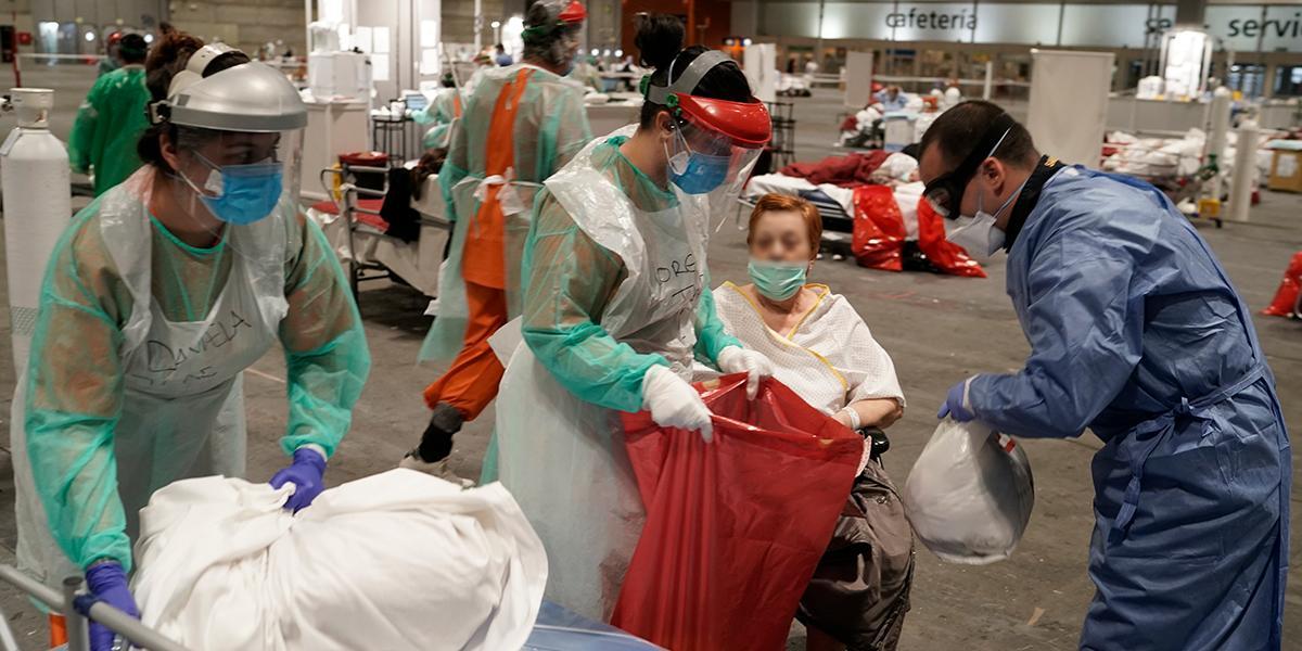 España supera los 10.000 muertos por coronavirus con nuevo récord diario