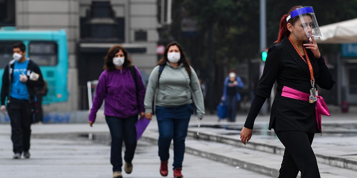 Chile contabiliza a los muertos como recuperados