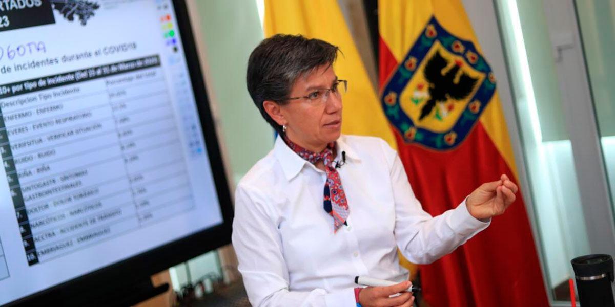 """""""Les pido un peso para el arriendo y les salgo a deber"""": Claudia López a Gobierno por atención a venezolanos"""