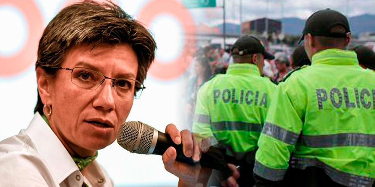 «A Bogotá le entregan policía y se la quitan al día siguiente»: Claudia López