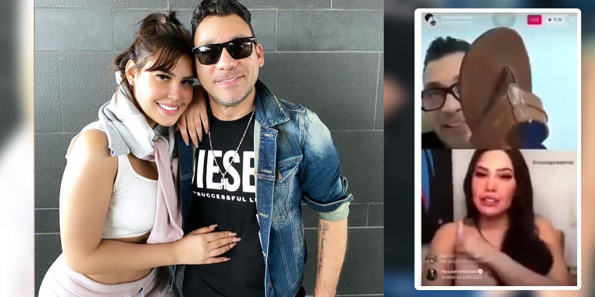 Jean Carlos Centeno regañó a Ana del Castillo por borracha y todo quedó en video