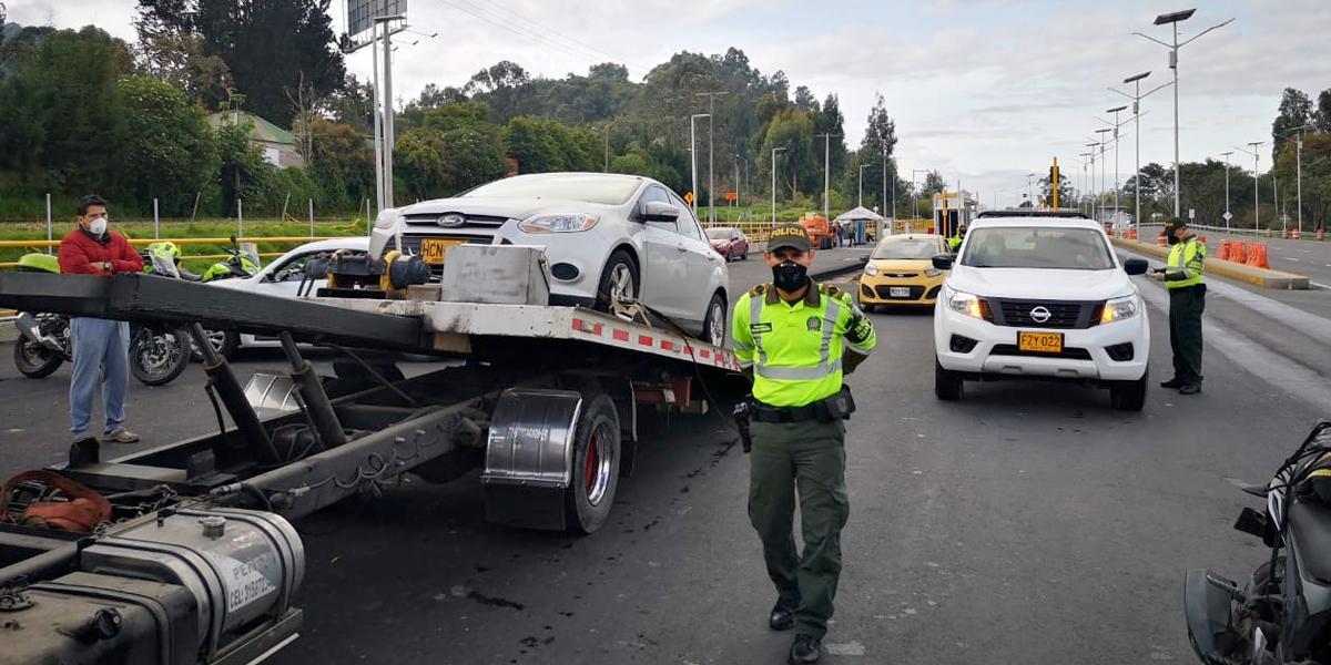 Ya van 6.148 conductores sancionados por evadir el aislamiento obligatorio