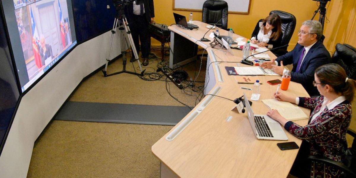 A través de una reunión virtual, presidentes coordinan medidas por la emergencia del COVID-19