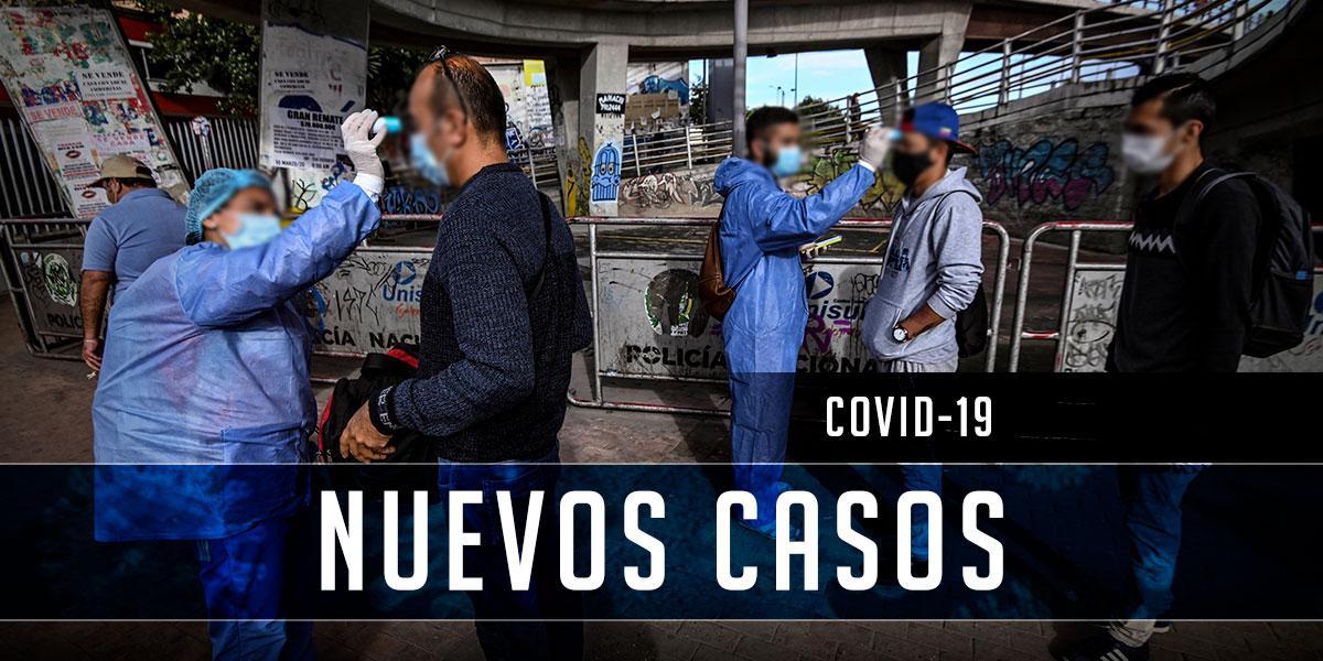 1.780 contagiados de coronavirus y 50 fallecidos en Colombia
