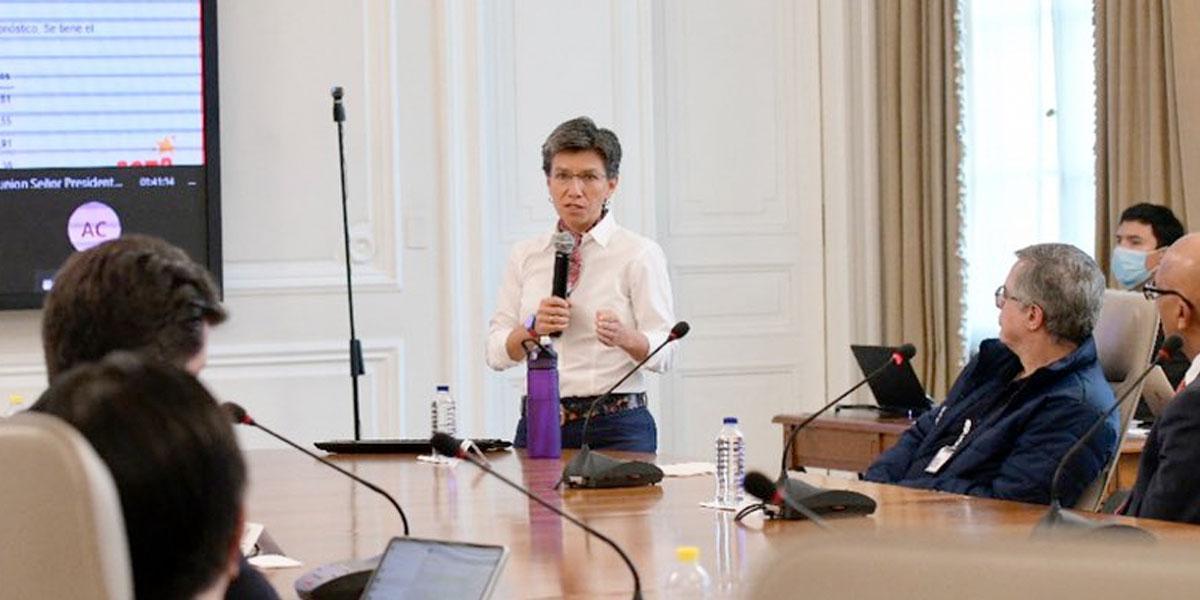 Alcaldesa Claudia López apoya decisión del presidente Duque de ampliar cuarentena