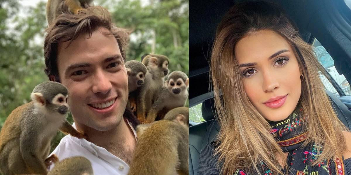 El coqueteo de Gabriela Tafur a Esteban Santos que él no supo responder