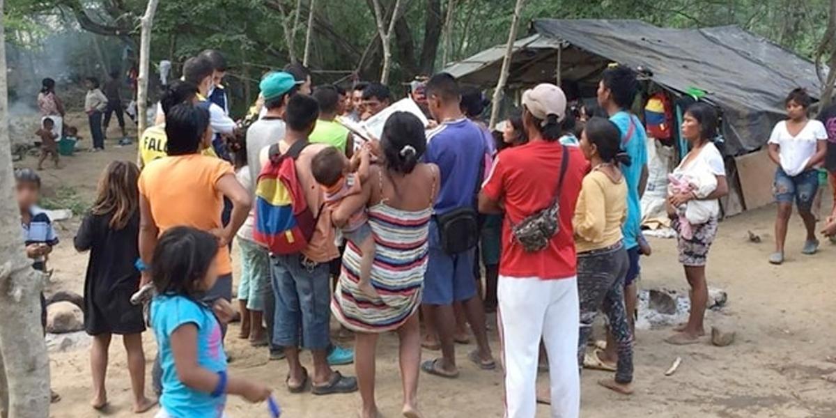 Cerca de 400 indígenas fueron desplazados por combates en Chocó, alerta ONU