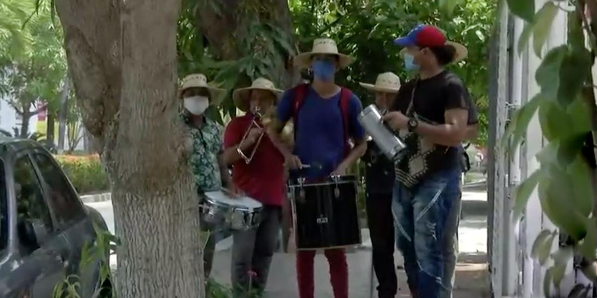 La travesía de unos músicos venezolanos para subsistir en medio de la cuarentena