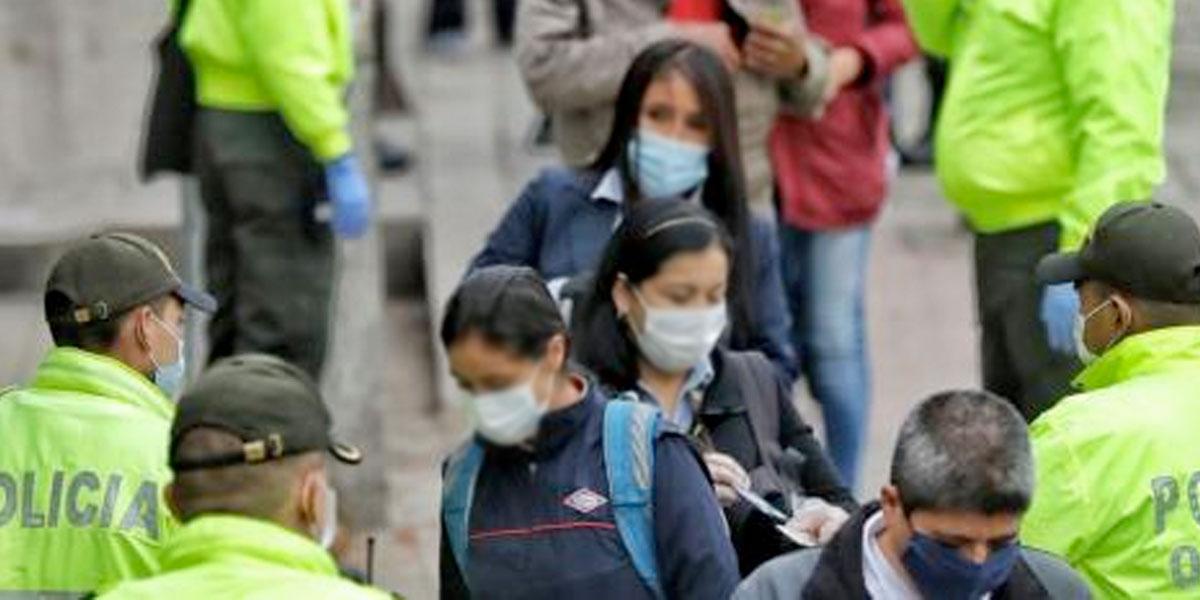 Más de 200 mil multas por violar la cuarentena obligatoria