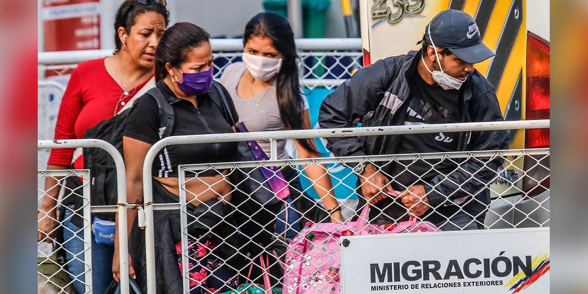 Implementan protocolos para el retorno voluntario de venezolanos a su país