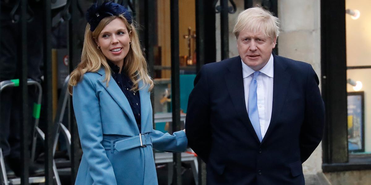 Boris Johnson y Carrie Symonds anunciaron el nacimiento de su hijo