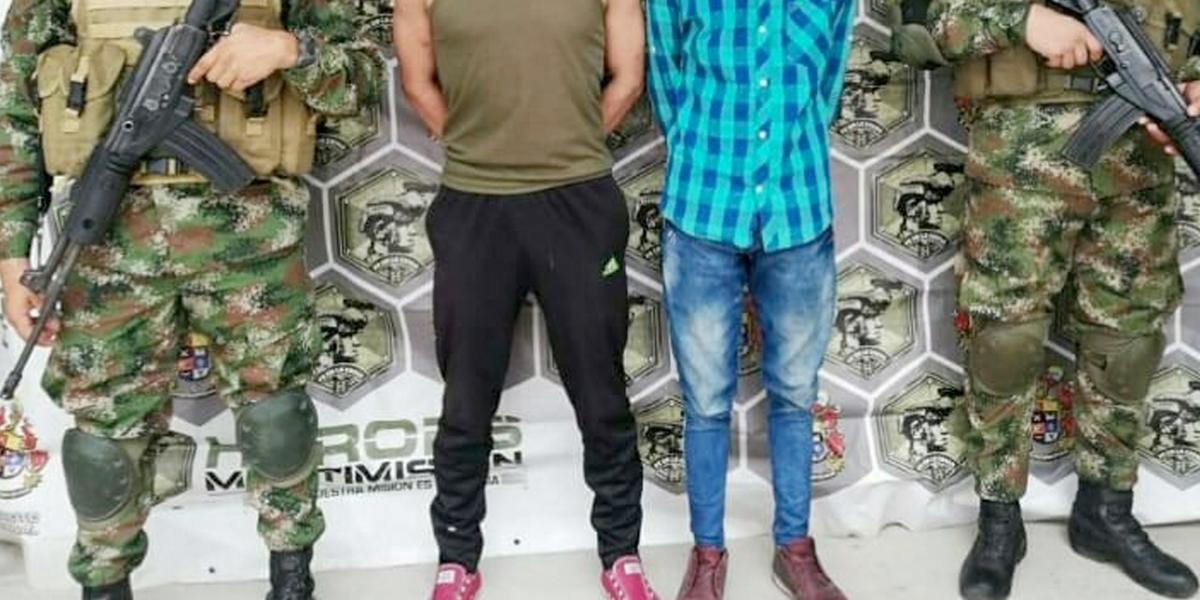 En Nariño y Arauca fueron capturados dos presuntos integrantes de grupos armados
