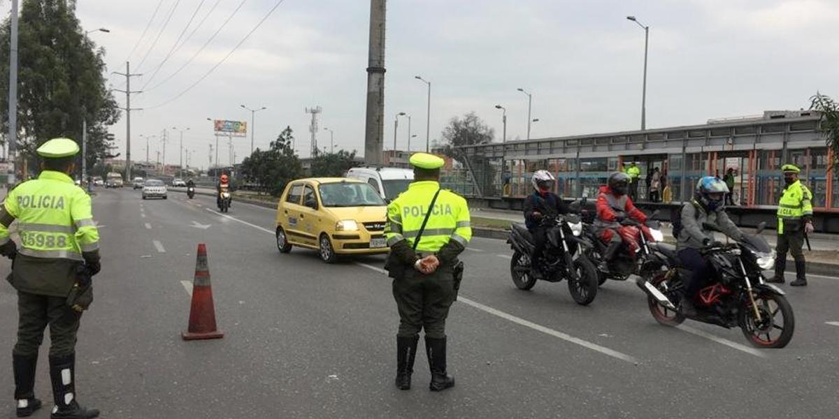 En dos días aumentan en más de 1.000 las sanciones a conductores por violar cuarentena