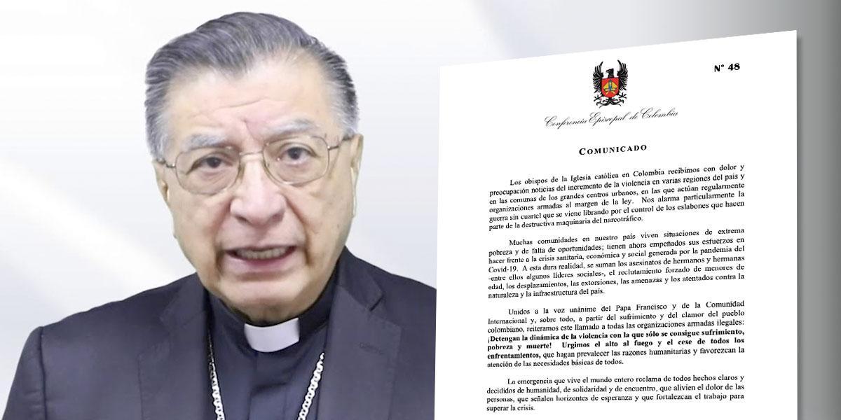 Iglesia católica alerta por incremento de la violencia