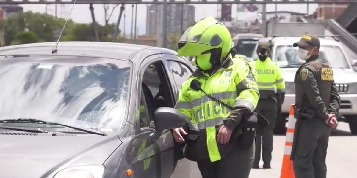 Boletín #8: Más de 19.000 comparendos a conductores por violar la cuarentena