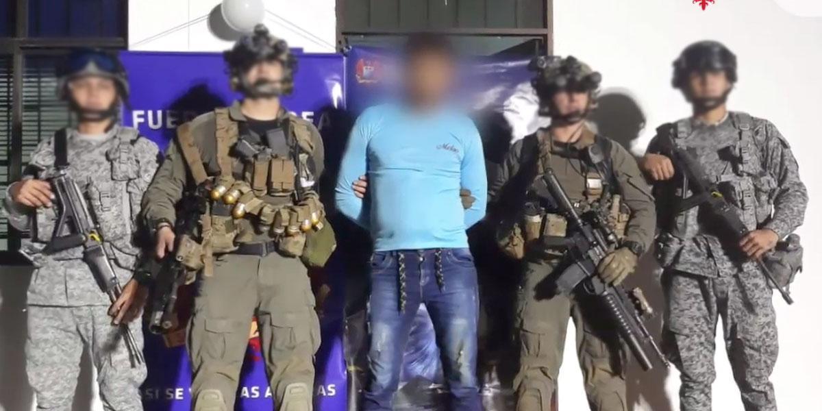 Capturado 'Nazario', cabecilla político del frente 'Adonay Ardila Pinilla' del ELN