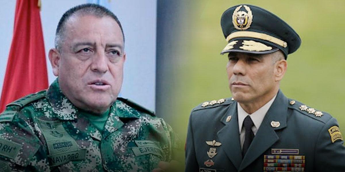 Comandante de las FF. MM. y del Ejército declaran ante la Procuraduría por espionaje