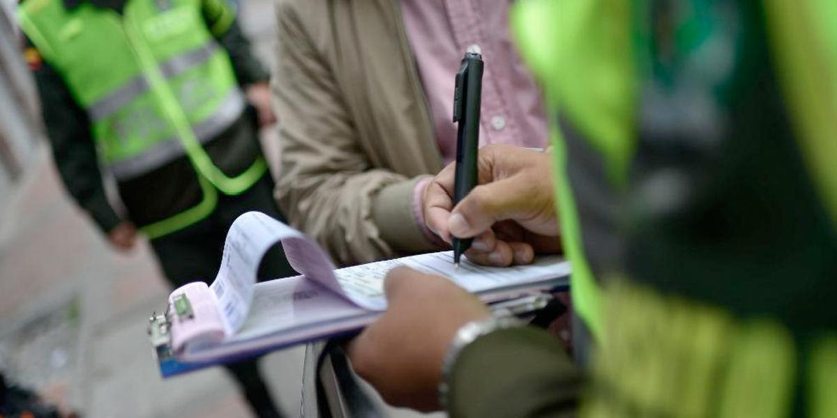 Más de 323 mil comparendos por violar el Código de la Policía durante la cuarentena