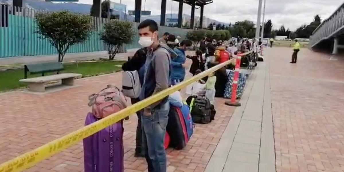 Se inicia corredor humanitario para venezolanos