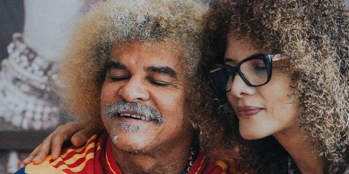 El gesto del Pibe Valderrama con su esposa por el que dicen que son la pareja perfecta
