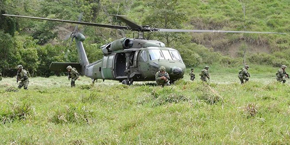 Ejército ejecutó una operación militar en contra del ELN en Bolívar