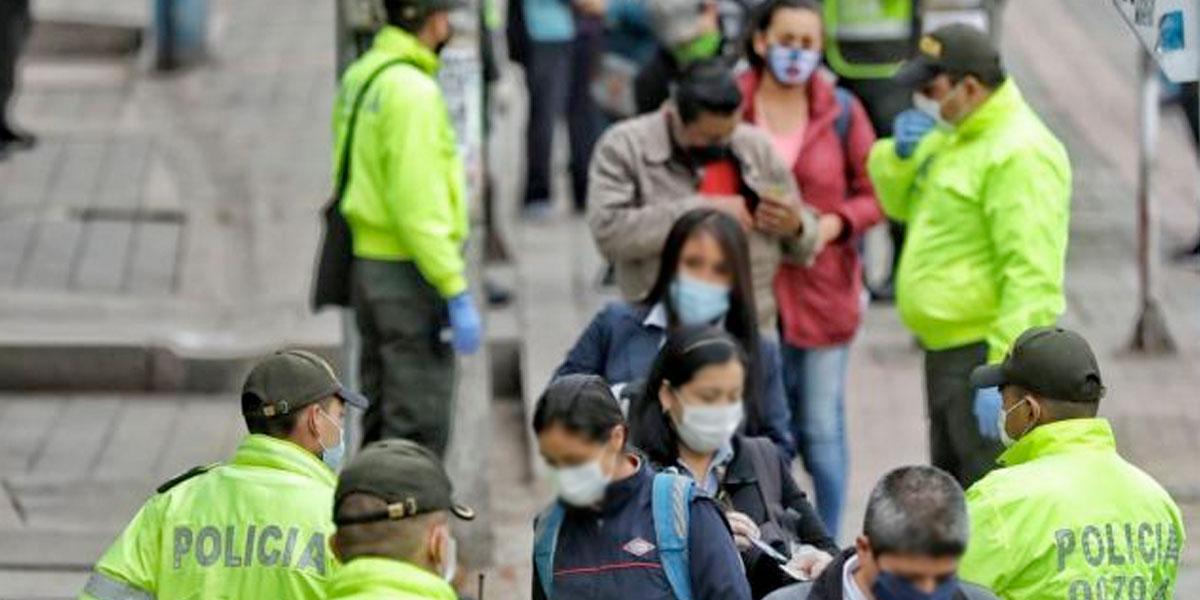 Con Policía, Ejército y Migración Colombia refuerzan controles para reducir contagios por COVID-19 en Soacha
