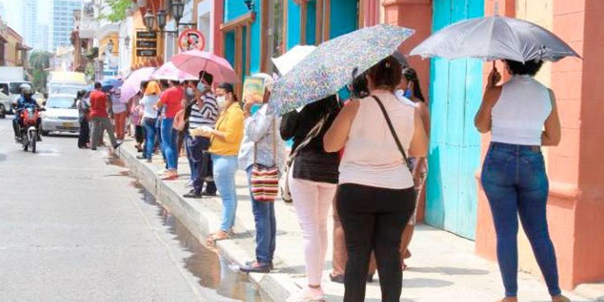 Velocidad de propagación de COVID-19 tiene en alerta a Cartagena