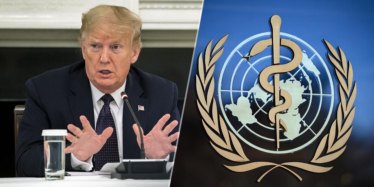 Trump amenaza con cortar permanentemente la financiación de EEUU a la OMS en 30 días