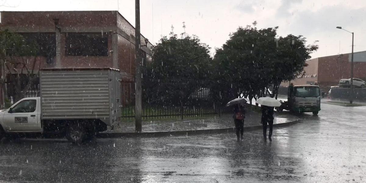 Lluvias superan en 40 % los niveles promedio
