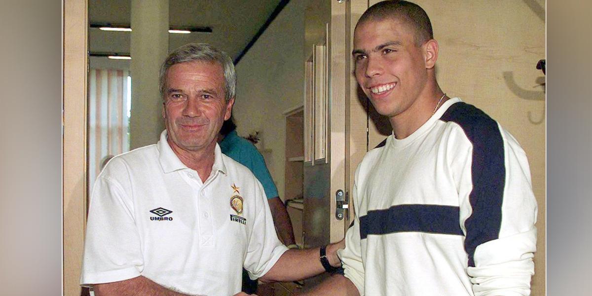Fallece Luigi Simoni, técnico de Ronaldo en el Inter de Milán