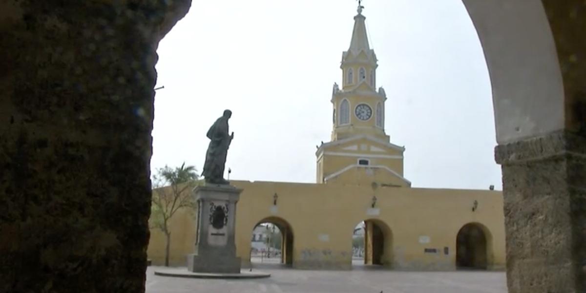 Toque de queda en Cartagena