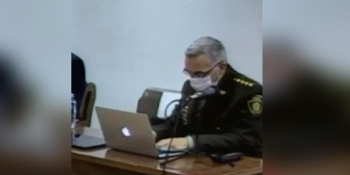 Inicia el juicio contra el director de la Policía