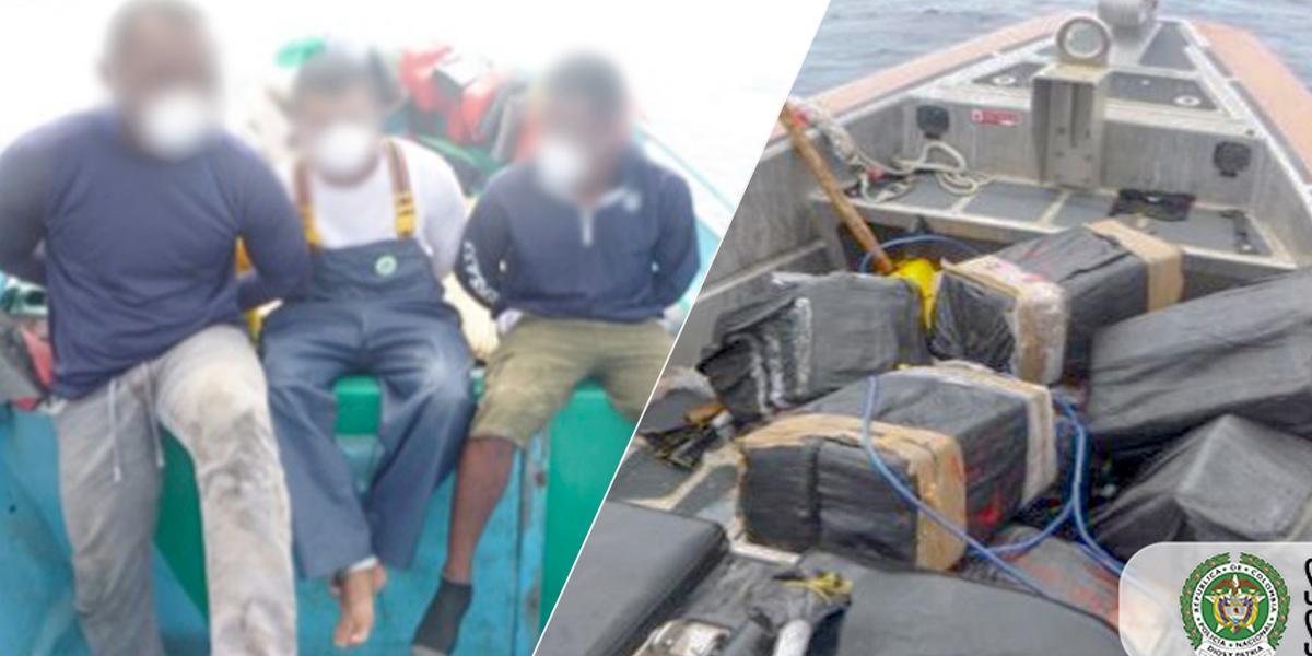 Policía incauta 1,5 toneladas de cocaína cerca de frontera con Ecuador