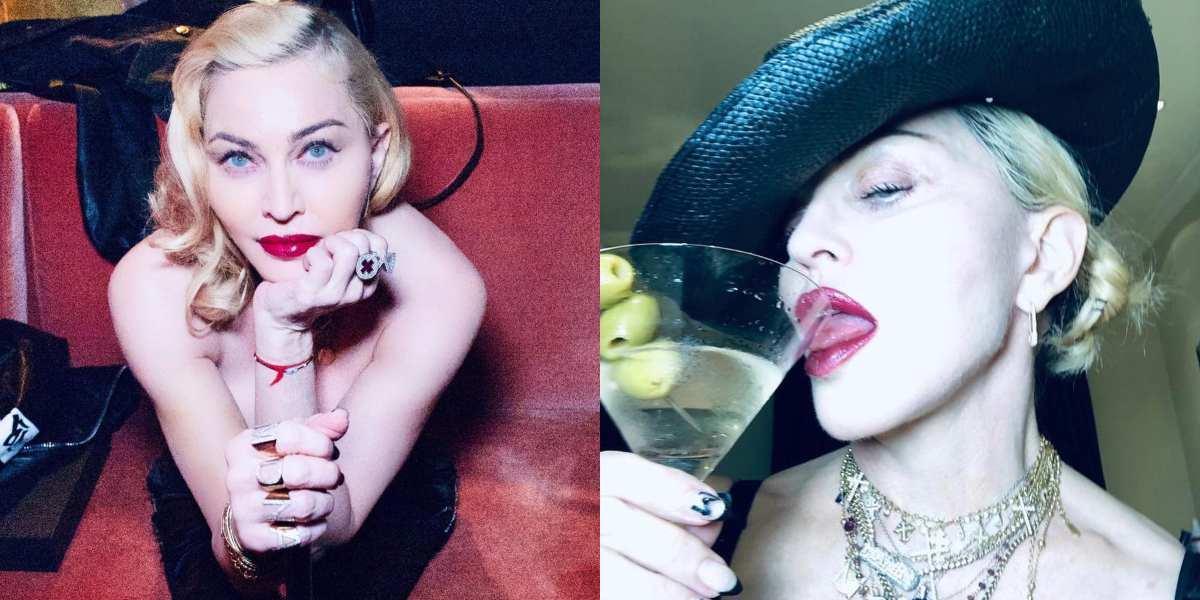 Madonna desafía la censura de Instagram al mostrar sus senos a los 61 años