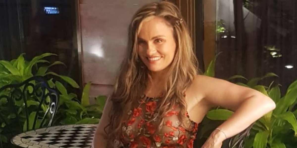 Críticas a Aura Cristina Geithner por publicar sensual video íntimo a sus 52 años
